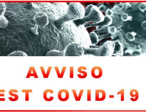 AVVISO PUBBLICO COVID-19